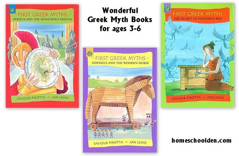 GreekMythBooks-ages3-6