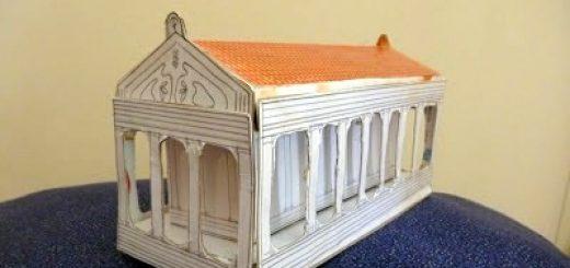 Parthenon Craft - Ancient Greece Unit