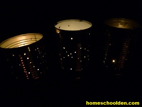homemade-christmas-lantern