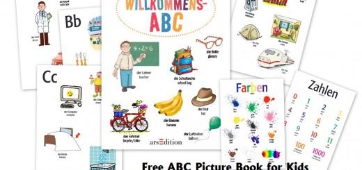 German - FREE ABC Book