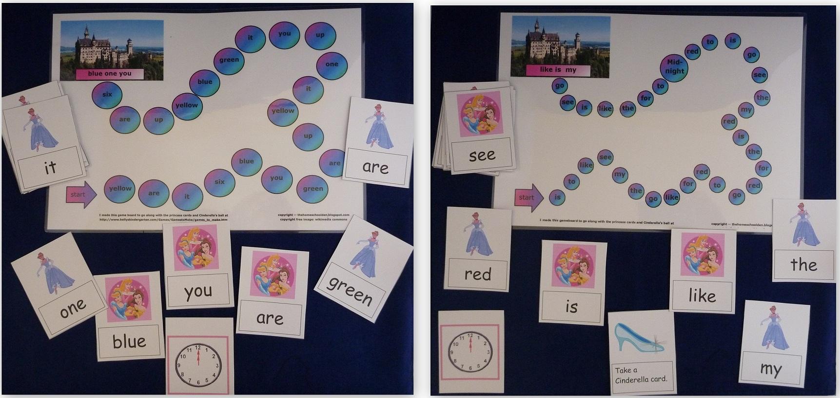 Princess-Board-Game
