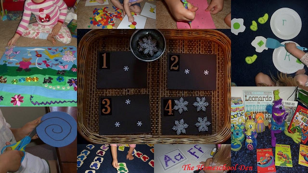 A Huge List of Activities to Do with Your Preschooler! 100 ...