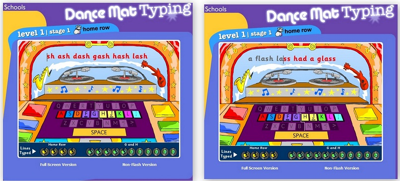 Learning to Type for Kids