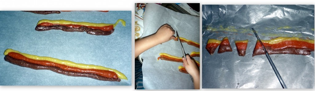 Making Homemade Candy Corn