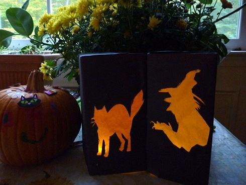 Halloween Milk Carton Art