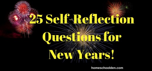 Self Reflection Questions for New Years