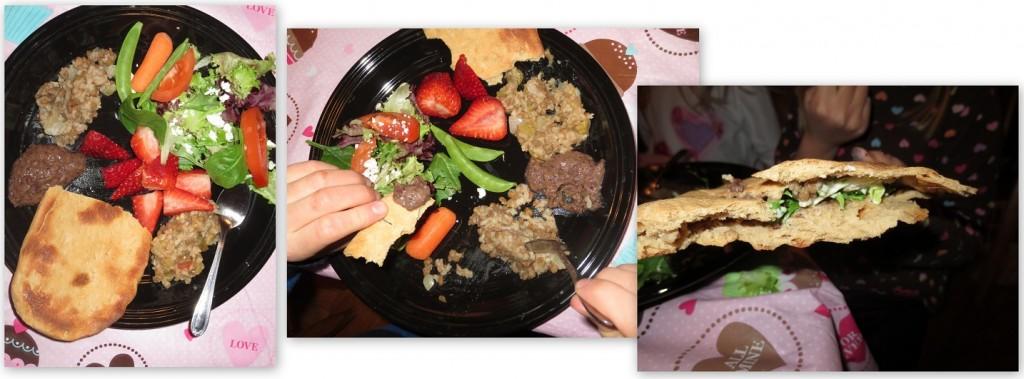 Pita-Lentils-and-Rice
