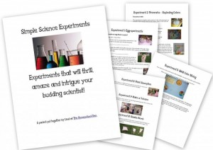 Preschool Science at Home (ages 3-7)