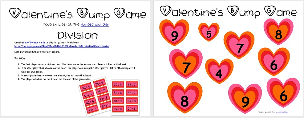 Free Valentines Multiplication Worksheets