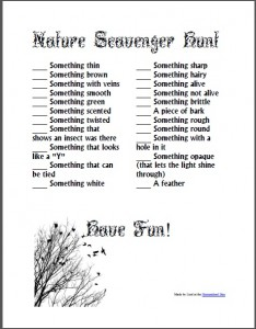 NatureScavengerHunt