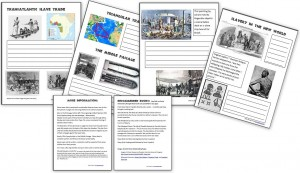 Transatlantic Slave Trade Worksheets (Free)