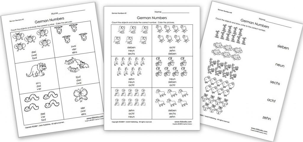 Free German Worksheet Packet on Animals - Homeschool Den