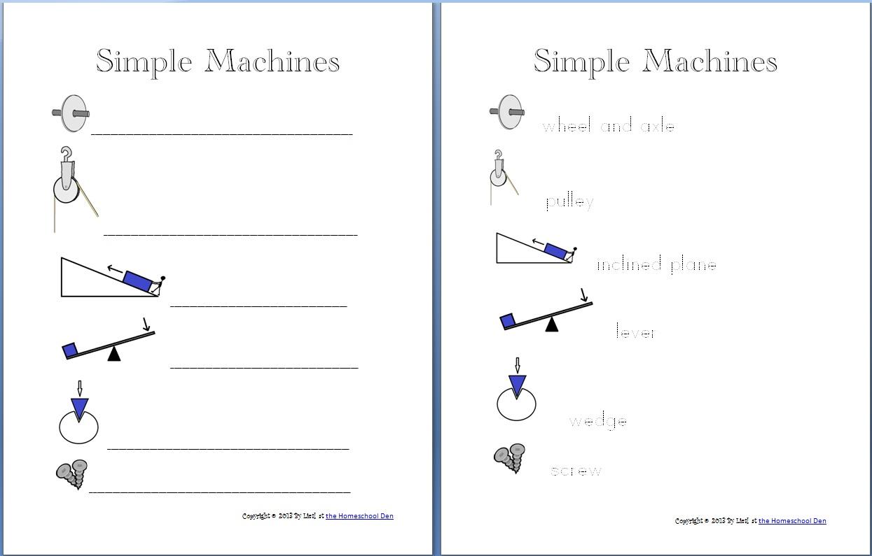 Workbooks science 7 worksheets : Worksheets On Simple Machines Free Worksheets Library | Download ...