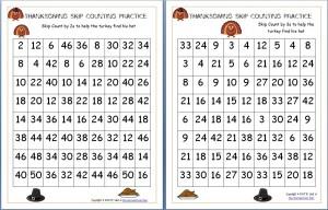ThanksgivingSkipCountingPractice