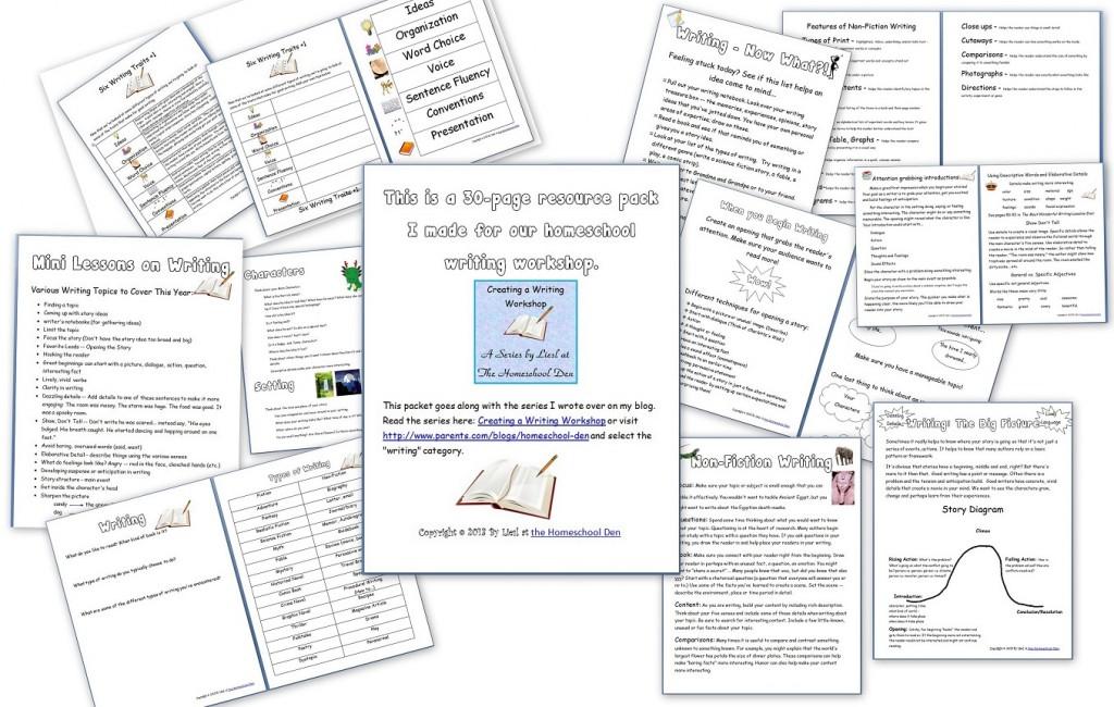 WritingWorkshopResourcePack-HomeschoolDen