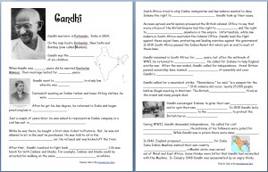 Gandhi-Worksheet
