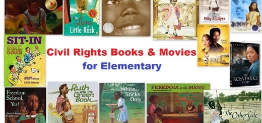 Civil Rights Books and Movies for Elementary Kids