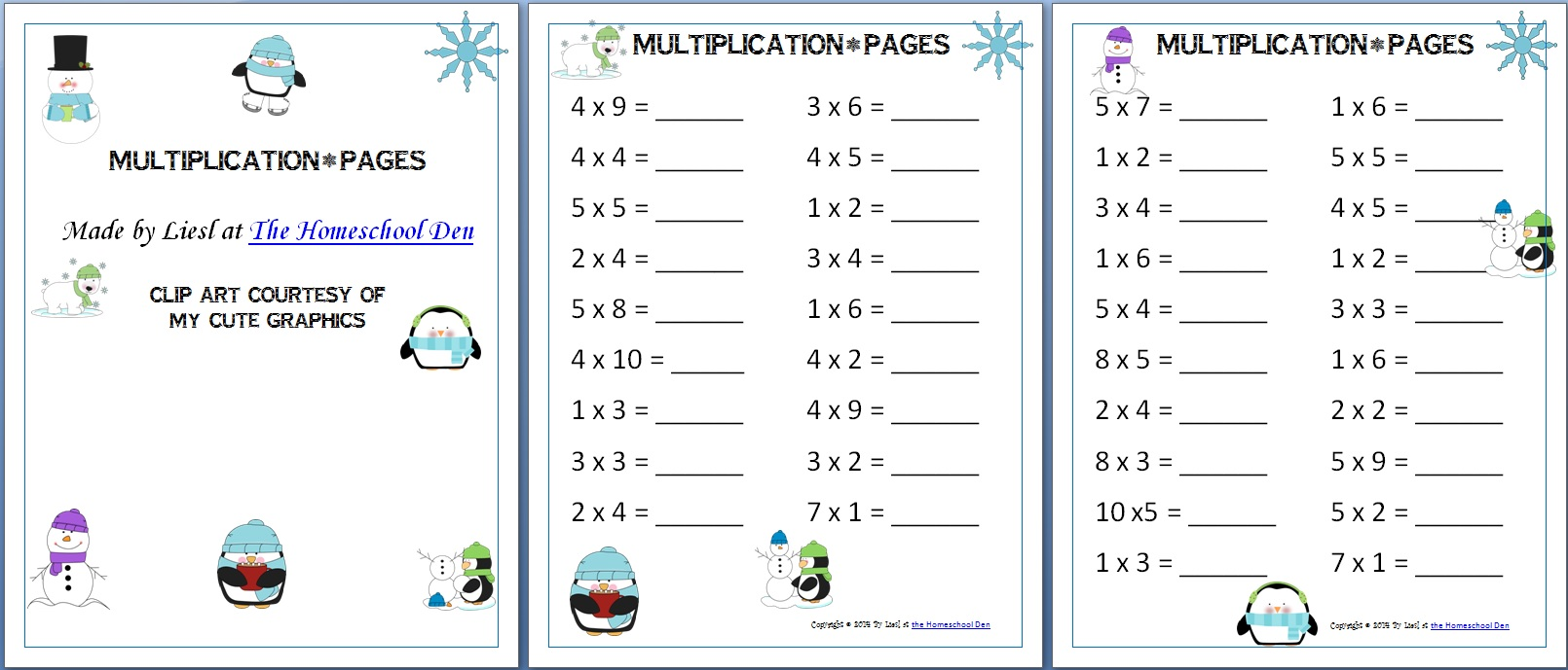 Workbooks worksheets multiplication : Minecraft Christmas Creeper Multiplication, Division and Fraction ...