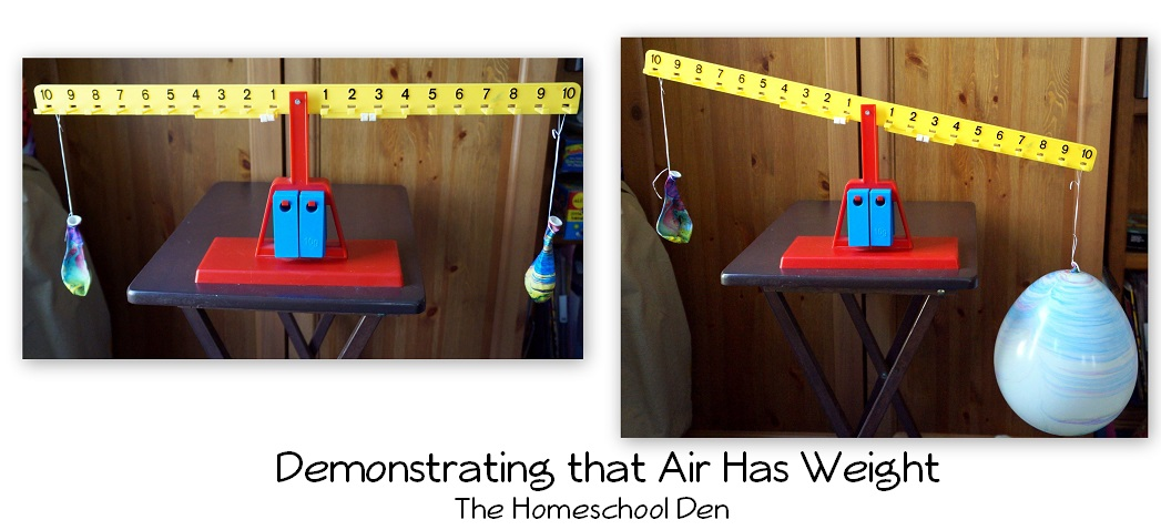 Air Has Weigh Science Experiment