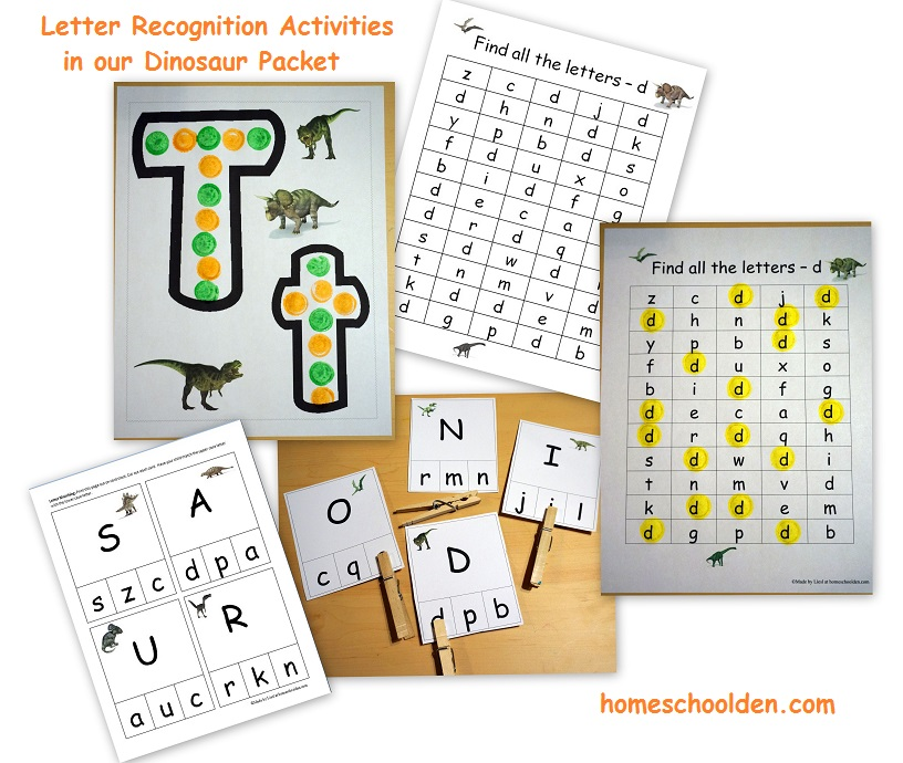 Preschool at Home: Alphabet Activities for 2-4 year olds ...