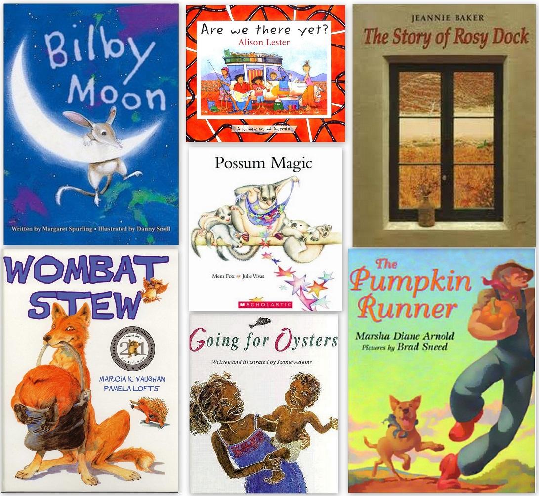 Australian Books for Kids