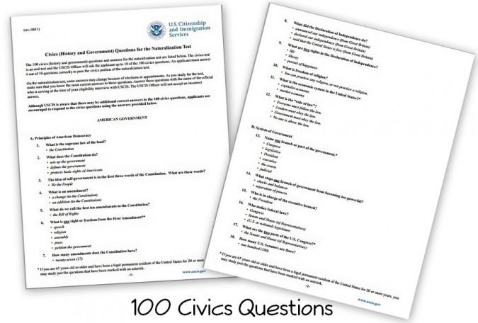 Free Civics Materials - Homeschool Den