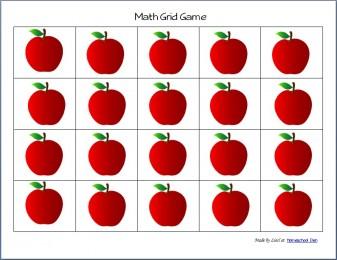 MathGridGame-Apples