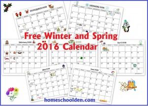 Free-Winter-Spring-Calendar-2016