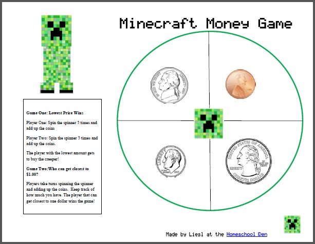 Search Results minecraft - Homeschool Den