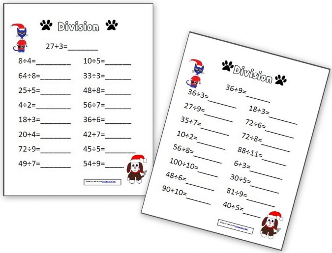 Pete the Cat Multiplication and Division Pages - Homeschool Den