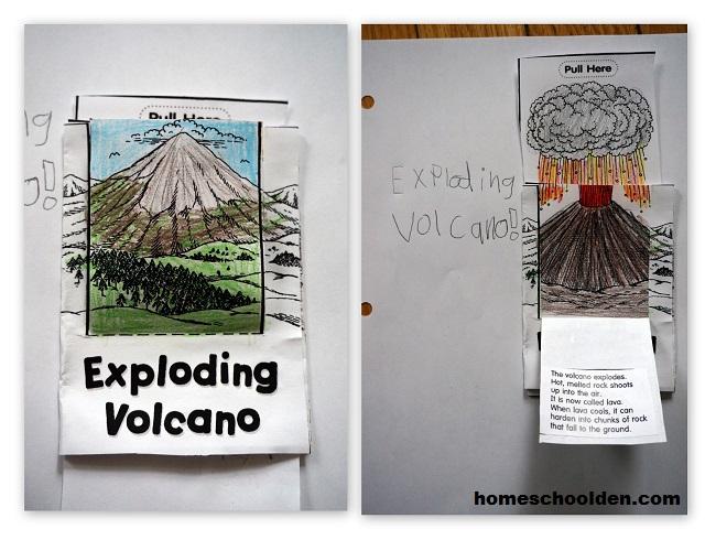 ExplodingVolcano-LapbookPage