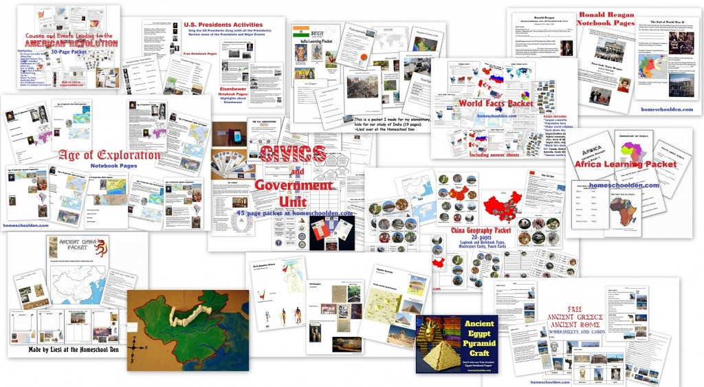 HIstory Resources - Homeschool