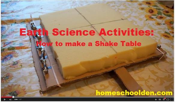 how to make a shake table for earthquake studies homeschool den