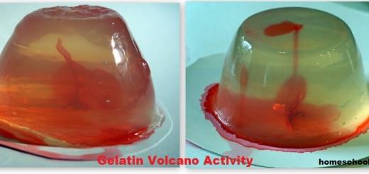 Gelatin Volcano Activity - Hands-On Earth Science Activities