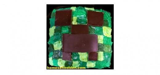 Creeper Cake