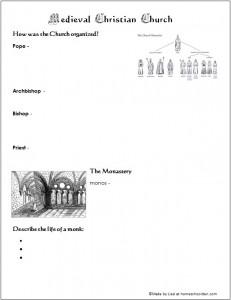 MedievalChurchOutline
