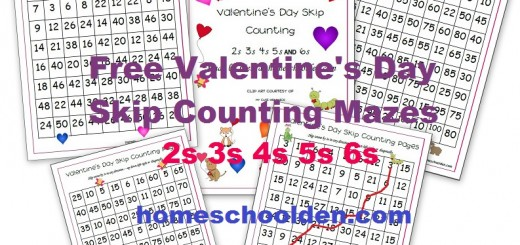 Skip Counting Worksheets Free Valentines