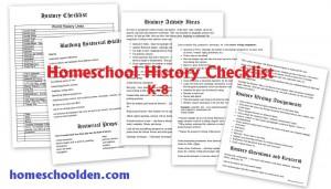 HistoryChecklist-Homeschool-GradesK-8