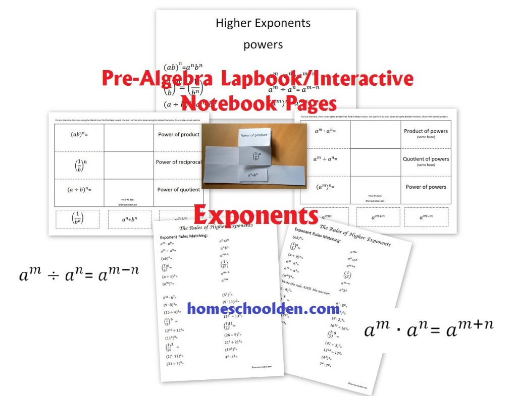 Workbooks Integer Exponents Worksheets Free Printable Worksheets
