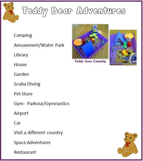 TeddyBearAdventures--List