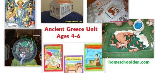 Ancient Greece Unit - Homeschool