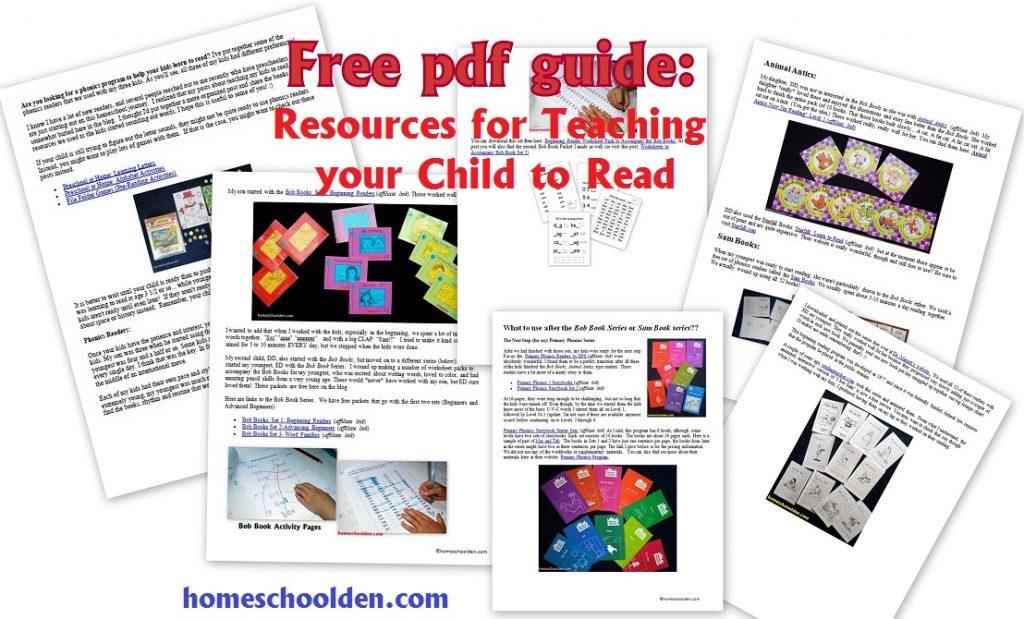 Guide-TeachingYourChildToRead