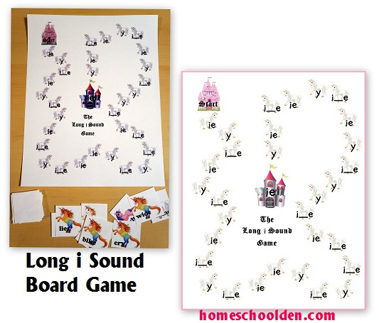 Long I Word Sort – Words with y, i_e or ie - Homeschool Den