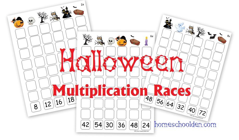 Halloween-Multiplication-Races