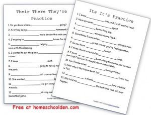 TheirThereTheyreItsIts-PracticeWorksheet