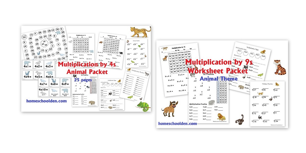 Printable Worksheets feudalism worksheets : Free Winter Division and Multiplication Worksheets - Homeschool Den