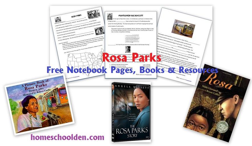 Rosa Parks and the Effort to End Segregation Free Notebook Pages – Rosa Parks Worksheets