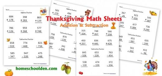 Number Names Worksheets free thanksgiving math worksheets : Holiday: Thanksgiving - Homeschool Den