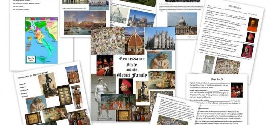 Renaissance-Worksheets