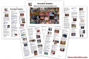 Preschool-Activity-List